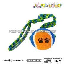 customer design best made pet toys dog chew cord tennis