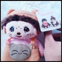 2015 Trendy New Design Christmas Monchichi Plush Toy Doll for Kids