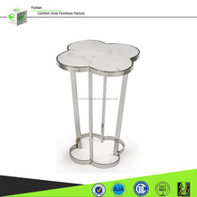 CN8017 Coffee side table sofa side table with glass design