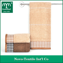 Wholesale 100% Cotton Jacquard Bath Towels With European Style Satin Stripes From China Suppliers