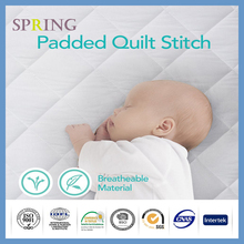 Quilted Fitted Waterproof Fitted Cradle Mattress Pad Cover