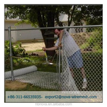 Chain link fence enclosure/ chain link fence extension for dogs