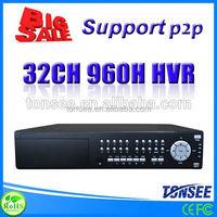 32 channel DVR (HVR) ,icatch dvr,Waterproof Cctv Surveillance Security Camera