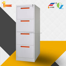 Knock down durable 4 drawer steel filing cabinet and vault