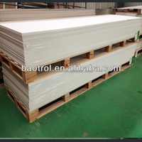 White Cultured Marble Sheets / Engineered Marble / Artificial Marble Manufacturing Slabs