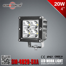 4 Inch 20W LED Work Light for truck .ship and car_SM-4020-SXA New product 2016 20w led work light offroad