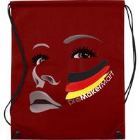 Non-woven Drawstring Bag, Sports Fans Favour 80-gram PP Non-woven Drawstring Bags Cheering for Team, PromoMakerMart
