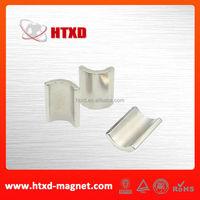 Neodymium ndfeb motor rotor magnet
