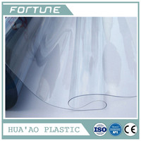 PVC PLASTIC SUPER CLEAR THICK SHEET FILM USE FOR MEDICAL USE