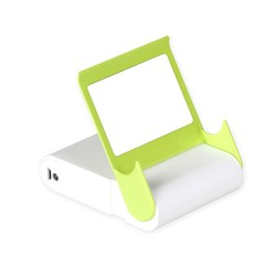 colorful portable mobile phone charger 10400mAh portable cell phone charger with mirror and phone stand