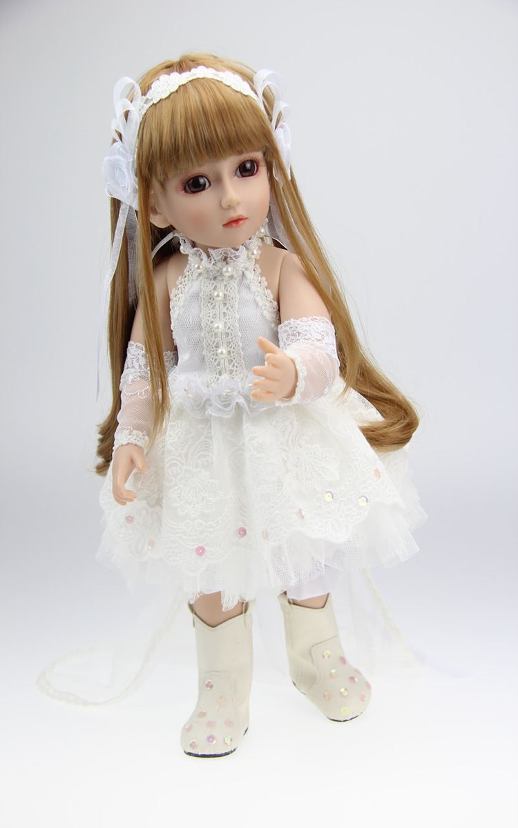 New 18 Reborn SD BJD baby doll dress clothes lifelike