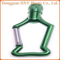 HXY promotional abnormity climbing mountain carabiner lighter