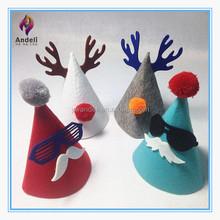 Children cute father Christmas XMAS party Santa fancy dress costume hat