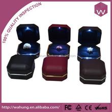 Customized LED Gift Jewellery Case & Metal LED Ring Box Wholesale