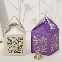 Lovely and beauty design paper small size boxes for candy gift