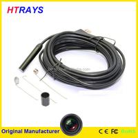 5 meter 9mm 2MP 6 LED mini digital infrared pen camera detector usb endoscope camera