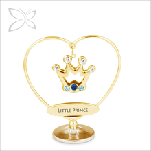 Fashionable Quaint Gold Plated Metal Crown Baby Gifts