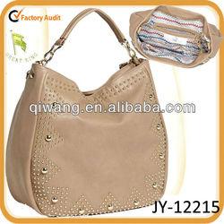 ladys studded Hobo bag for spring