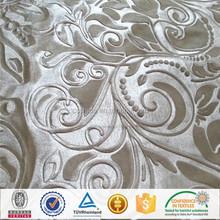 3D Embossed Italy Velvet For Sofa Cover/Window Curtains