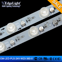 Hot sale 3535 smd rigid rgb led strip slim led strip lights 24v