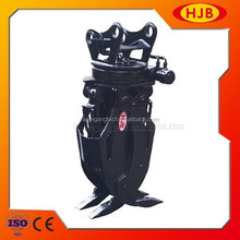 HJBL10 log grapple for 23-30T excavator, excavator grab attachments