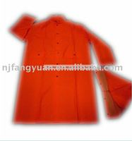 FYR-026 Adult's PVC/polyester Water proof Rain Coat