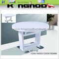 Mesa y silla de comedor extensible round sets Moderno
