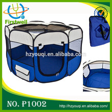8 Sided Soft Sided Folding Fashion Fabric Pet Playpen