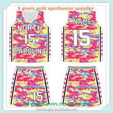 Modern unique women's basketball game jersey