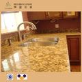 Giallo Fiorito granito para revestimiento de la pared encimera de la cocina Wash-basinStairs enmalle Destign