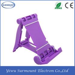 Multifunction mobile phone desk holder Folding Phone/Tablet Stand For Desk