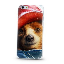 Animal design hard cover case for iPhone 5 6 cute jecket of your phone the lover of girl