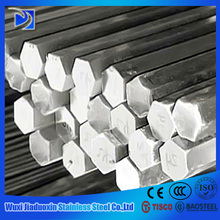 made in china satin finish 201 stainless steel hex bar