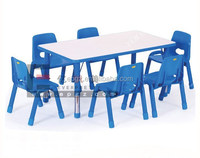 Long Cafe Kids Table and Chair with High Quality