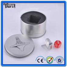Inception Top zinc alloy handicraft souvenir with a plastic dice