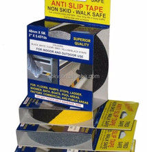 Industrial Anti Slip Adhesive Hazard Floor Tape,silicone anti slip tape