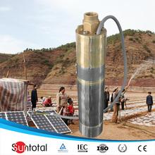 2kw 4000l 105m bombas de agua sumergibles para pozos precio
