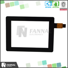 Standard and customized usb/iic/rs232 interface win/android/linux system 3.5 inch capacitive touch screen