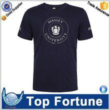 2015 Latest design unisex polo branded organic cotton t shirt 3d printing t-shirt