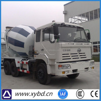 Used concrete mixer truck for India online price