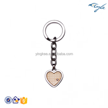 2015 Fashion style Low price 316L Stainless steel key chains