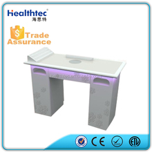 Mini White Design Manicure Table With Suction