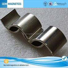 Professional Customized N50 N52 Arc Hard ferrite magnet