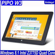 Original PIPO W3 10.1 inch IPS 1920x1200 Windows tablet PC Intel z3735d Quad Core 2.4GHz 2GB+64GB Good Camera Office