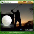Nueva llegada de formación pelota de golf iluminado led de pelota de golf