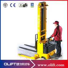 EL Series 1.5 ton 3.3m lifting height full electric pallet stacker(with CE)