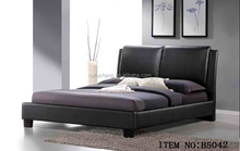 leather king size bed black,back bed of leather,pink leather bed frame