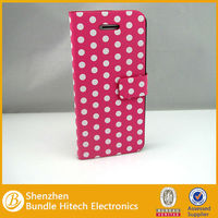 2013 new product leather stand case for iphone5c