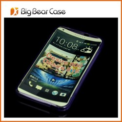 Soft tpu back cover tpu cheap mobile phone cases for HTC desire 800