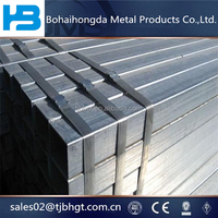 good packing Gi pipe, square steel pipe price per piece, rectangular steel tube at competitive price